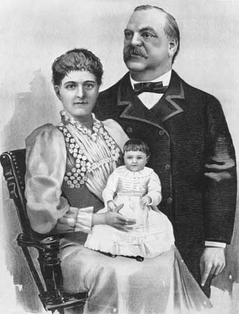 Image result for President's child born in White House 1893 images